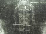 Experts have claimed the Shroud of Turin (pictured) is stained with the blood of a torture victim