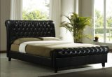 10 Beautiful Leather Bed Designs Wedo For Your Inspiration Leather Bed Frame