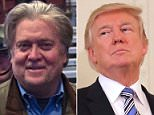 Steve Bannon, who was once a constant presence in the Oval Office, has 'largely disappeared' from President Donald Trump's inner circle for 'self-preservation'