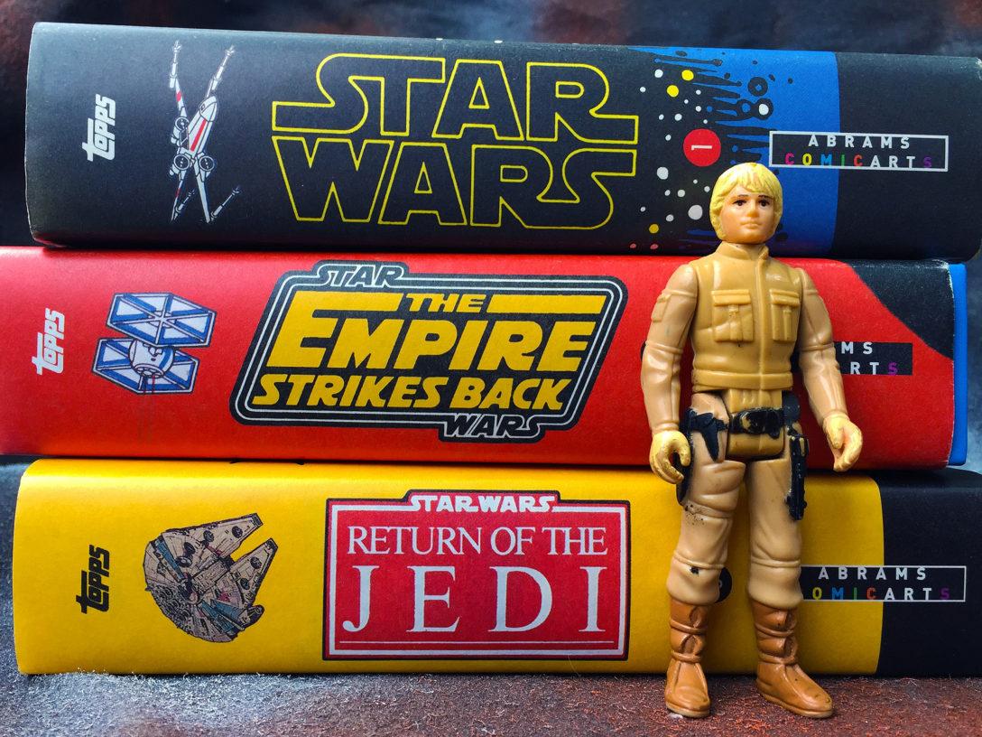 Star Wars Topps Trading Card Books
