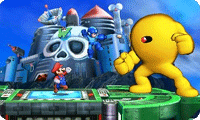 Mega Man II's Wily Castle Stage Will Be In Super Smash Bros. For 3DS, Too