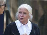 Christy Norman, 70, wasfound guilty ofassisting in the management of a brothel (She is pictured outside court yesterday)
