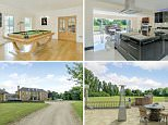 Countryside pad: The seven-bedroom luxury  home owned by Secret Millionaire's Glenn Armstrong is on sale for £3million