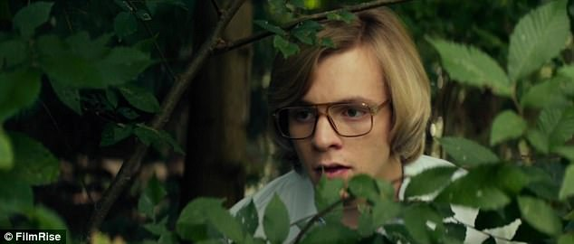 Future killer: In real life, Dahmer went on to earn himself the nickname the 'Milwaukee Cannibal'
