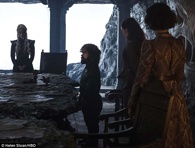 War room: But Daenerys cunning plan already seems to be going off the rails