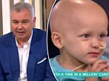 Twitter reaction to Eamonn Holmes saying 'come back and see us when you get all your hair back' to young cancer sufferer on This Morning