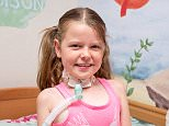 Brave Maddison has defied all medical expectations and is due to celebrate her ninth birthday today.