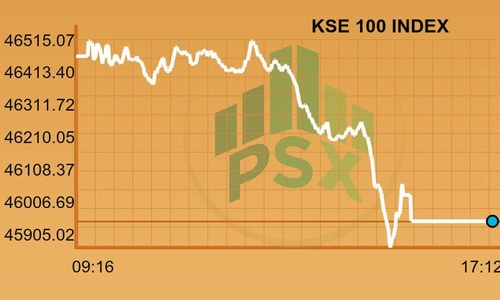 Stocks continue downward slide on political uncertainty