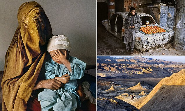 Steve McCurry pictures show Afghanistan over four decades
