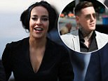 Stephanie Davis leaving Liverpool Magistrates' Court where on-off Jeremy McConnell appeared charged with assaulting her. PRESS ASSOCIATION Photo. Picture date: Monday August 7, 2017. He is accused of assaulting the former Hollyoaks actress during an incident at a property in Rainhill, Merseyside, on March 10. See PA story COURTS McConnell. Photo credit should read: Peter Byrne/PA Wire