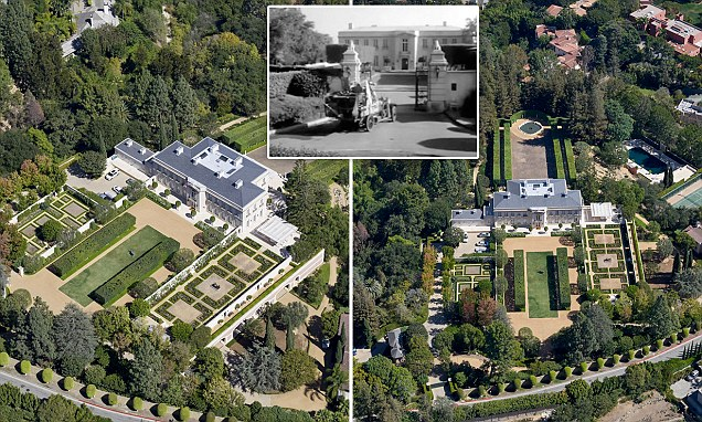 Jerry Perenchio's Bel Air estate on sale for $350million