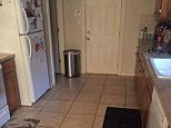 A puppy dog has almost perfectly camouflaged itself somewhere in this kitchen - so can YOU see it?