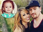 Jake Jensen, 29, has been charged with murdering his wife Stephanie's one-year-old daughter Sophia in 2016 (right). He said the girl, who suffered cerebral palsy, died of a seizure but a new autopsy report found in January that she was murdered