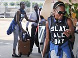 Venus Williams has been spotted wearing a 'slay all day' shirt just a few weeks after she was involved in a deadly car crash