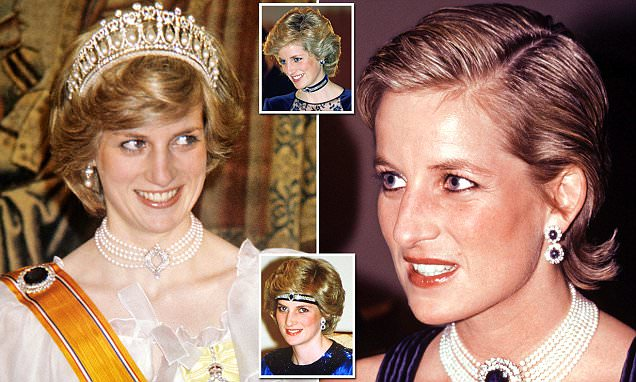 Diana's sensational sapphires (that Kate adores)