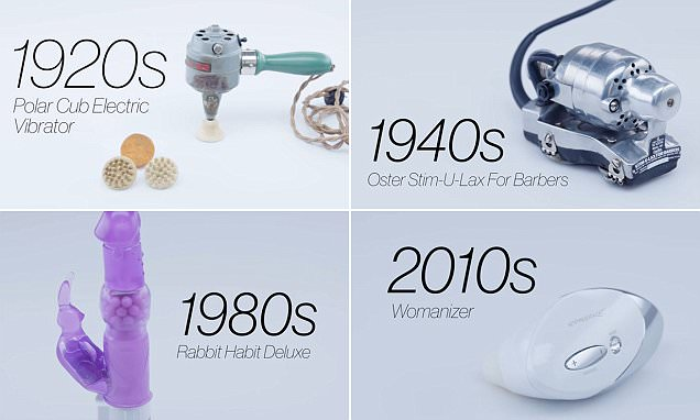 How sex toys have evolved over the past 100 years