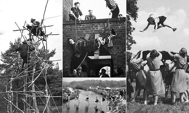 Glory days of Scouts and Guides before health and safety