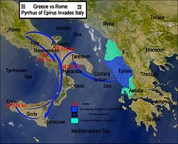 Map of the Pyrrhic War (280–275 BC) (English).jpg