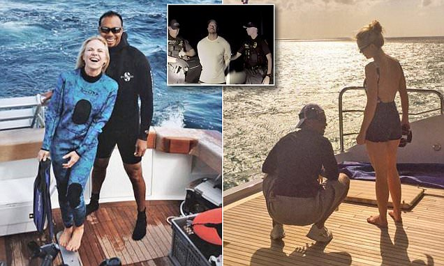 Tiger Woods is seen for the first time with ex-girlfriend
