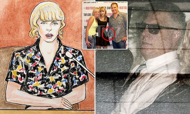 Taylor Swift: Drunk radio DJ grabbed my bare a***