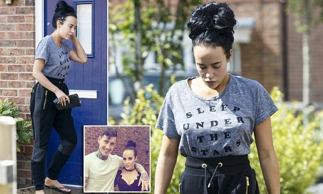 Stephanie Davis emerges after revealing her miscarriage