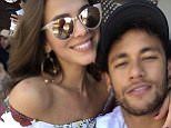 Love split: Brazilian football superstar Neymar Jnr and his long term girlfriend, soap actressBruna Marquezine separated before his record breaking £198 million move to PSG