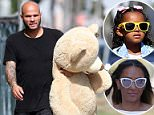 Stephen Belafonte, 42, is still under a temporary restraining order taken out by Melanie 'Mel B' Brown, meaning he is only allowed to visit their daughter Madison, six, in the confines of a counselling center with a court monitor present