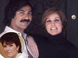 Love me tender:Robert Kardashian began dating Priscilla Presley soon after he dumped Kris Jenner in 1975 (Robert and Priscilla in 1976 at her Beverly Hills home)