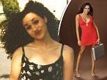 Game Show Host: Meghan Markle dons a red dress and heels during her days on Deal or No Deal