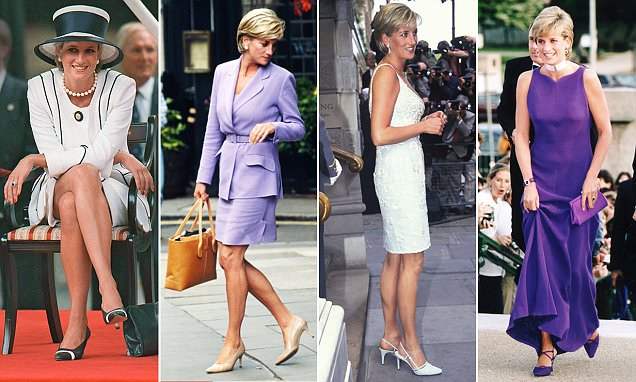 How Diana's shoes traced the ups and downs of her marriage