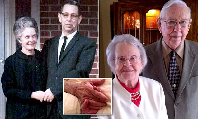 Missouri couple married 77 years buried in a single casket