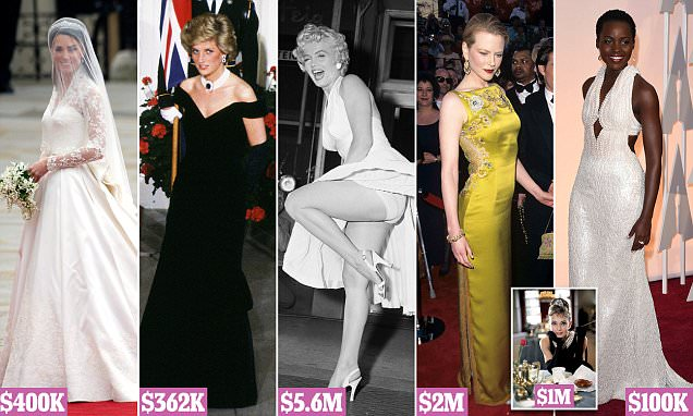 Getty Images reveals most expensive dresses of all time