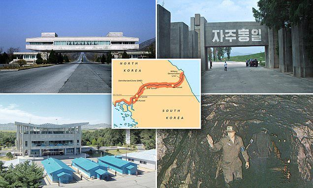 North, South Korea ready wartime infrastructure along DMZ