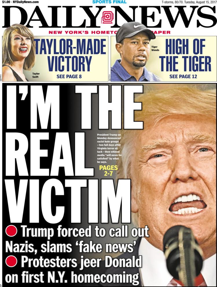 NY Daily News Covers
