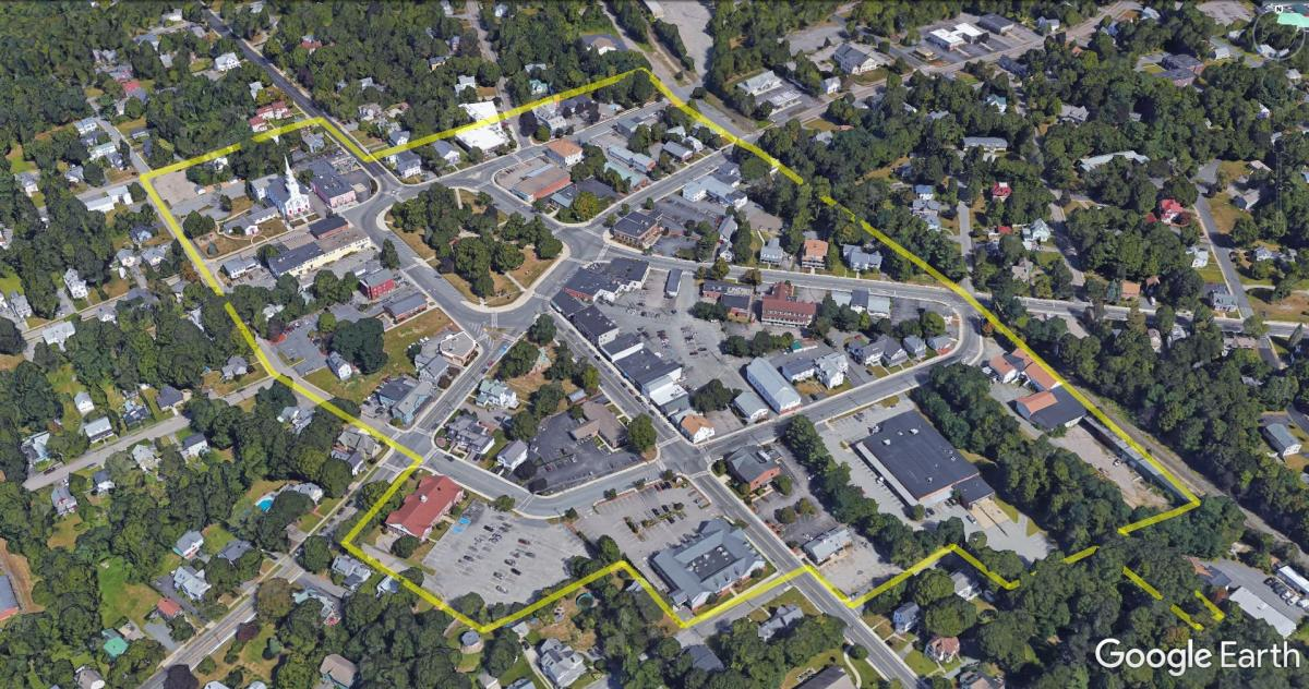 Map of Foxborough Project