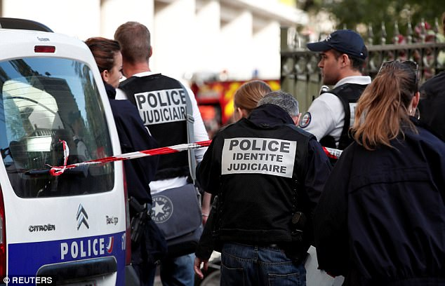 Targeted: The soldiers were all members of an anti-terrorism operation which has been deployed in Paris since the Charlie Hebdo attacks in January 2015