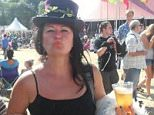 Lynn Tonks, 50, from Bristol, said one of the men had given her a 'dirty look' in the city's New Moon pub