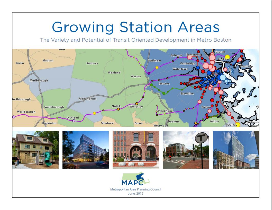 Growing Station Areas report cover