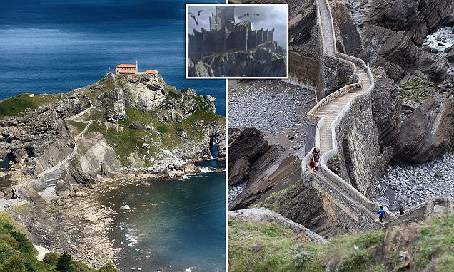 Gaztelugatxe is the real Dragonstone from Game of Thrones