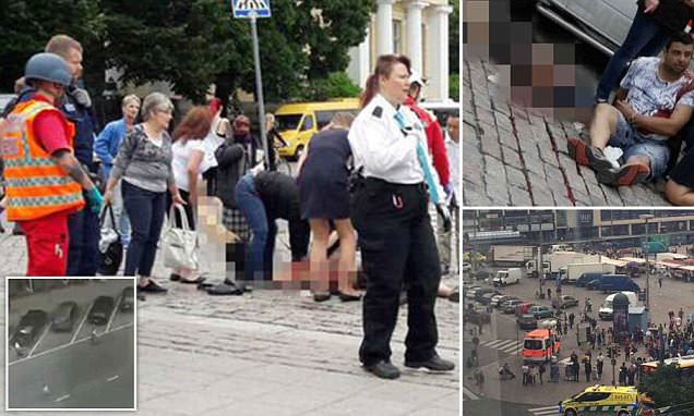Finland attack: Two killed and several injured in stabbing
