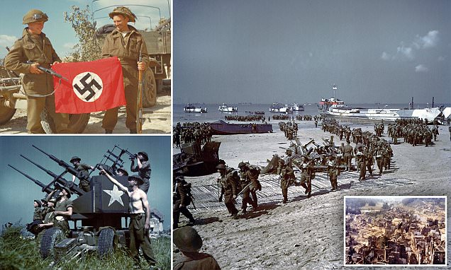 National Archives of Canada photos show Normandy Invasion