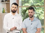 Rylan Clark and his husband Dan Neal 'This Morning' TV show, London, UK - 25 Aug 2017