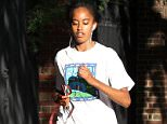 It's been less than a week since Malia Obama (seen above this past Monday in Cambridge, Massachusetts) moved into her dorm and officially became Harvard University's most famous freshman
