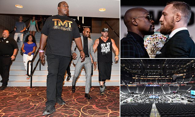 Countdown to Mayweather v McGregor's 'richest fight'