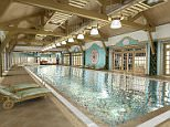 Vladimir Putin's has a new lavish holiday home with gold-plated tiles in the swimming pool
