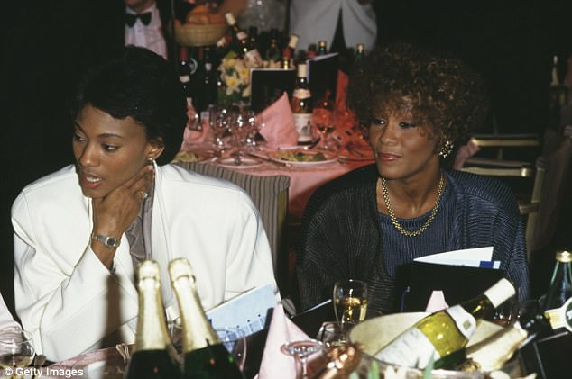 Whitney Houston was believed to be in a lesbian relationship with her assistant Robyn Crawford (pictured left), who she first met age 16
