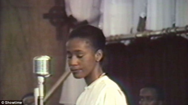 Whitney began singing in church as a child and was later marketed to 'white teenage girls' by record boss Clive Davis