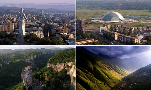 Images of Georgia taken before law limiting use of drones