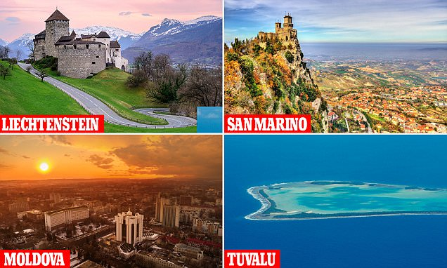 The least-visited countries in the world revealed