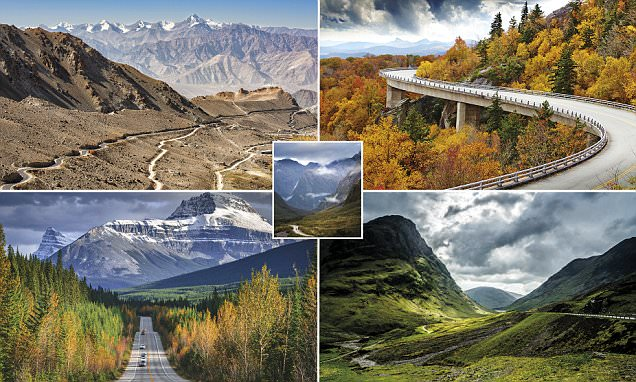 Lonely Planet reveals world's most thrilling road trips